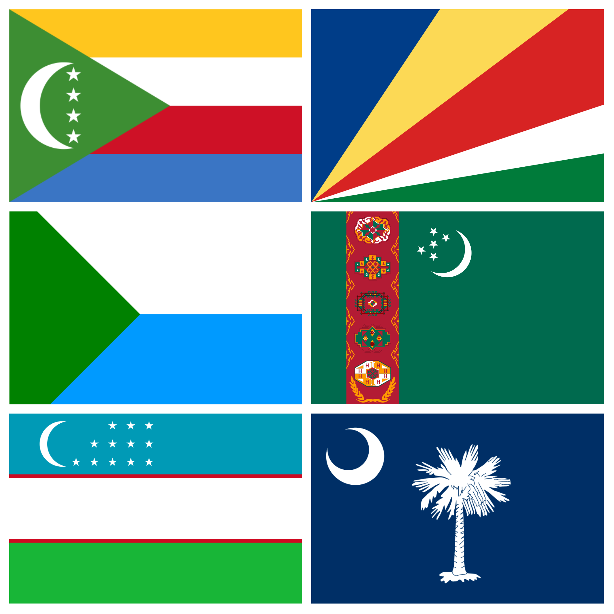 Favourite flags