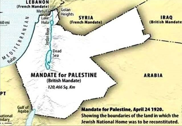Mandate for Palestine1