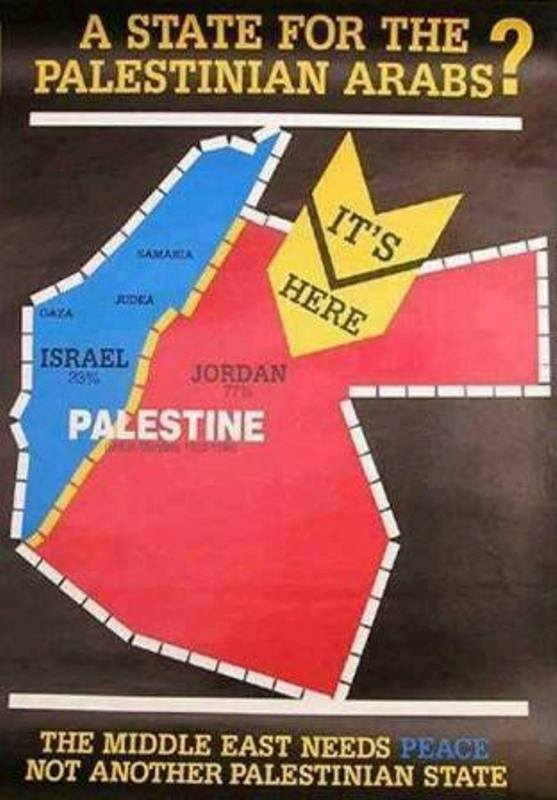 Palestine is Jordan