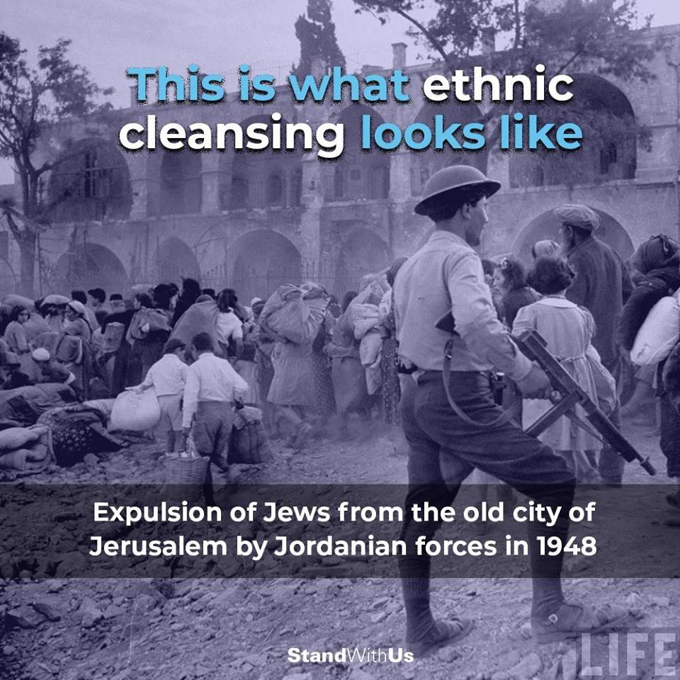 Expulsion Jews by Jordanian occupation