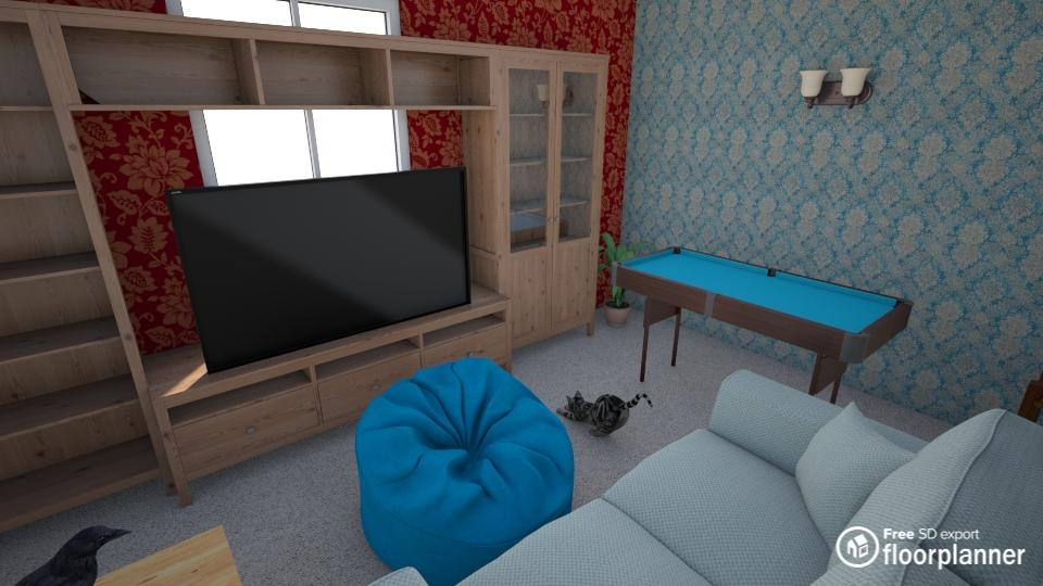 Game room render