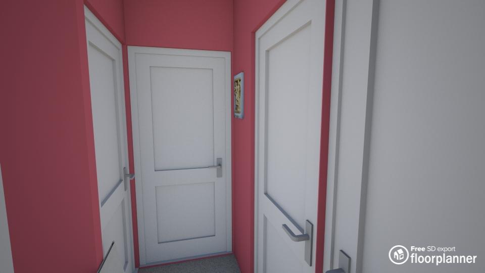 Hallway render 2