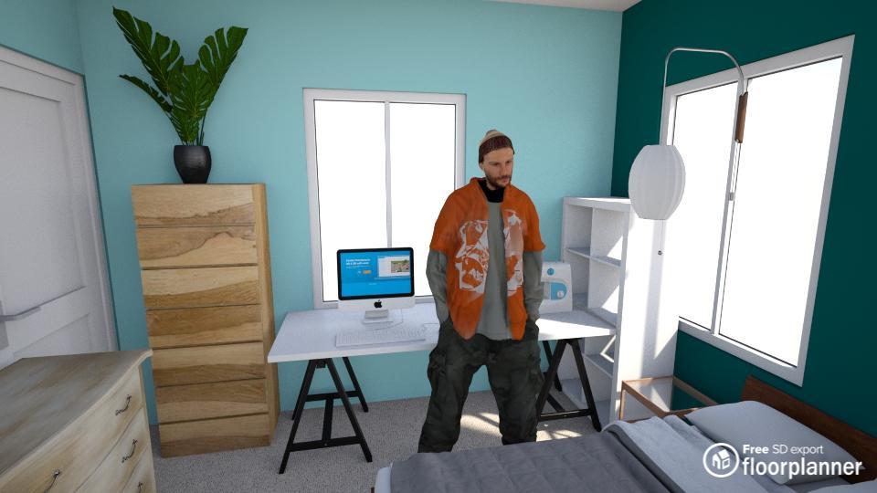 bedroom render 3