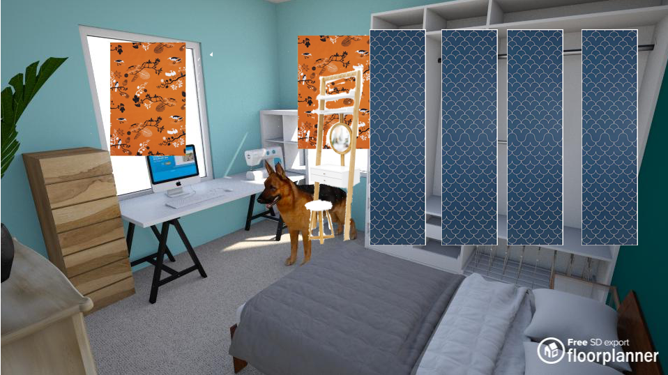 Bedroom render 11
