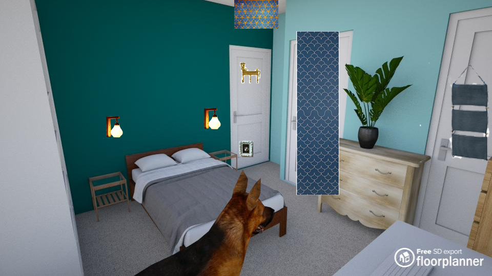 Bedroom render 12